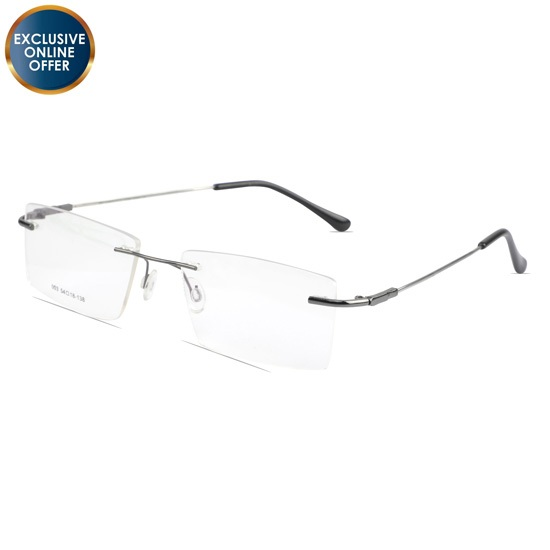 Buy Rimless Eyewear at chashmah.com