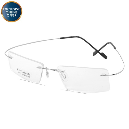 Buy Titanuim Rimless at chashmah.com